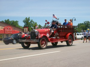 Antique Fire Truck Parade 2012
