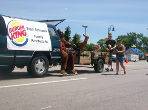 Burger King Parade 2012