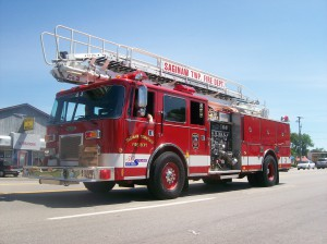 Saginaw Twp Fire 3 Parade 2012