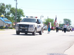Thomas Twp Police parade 2012